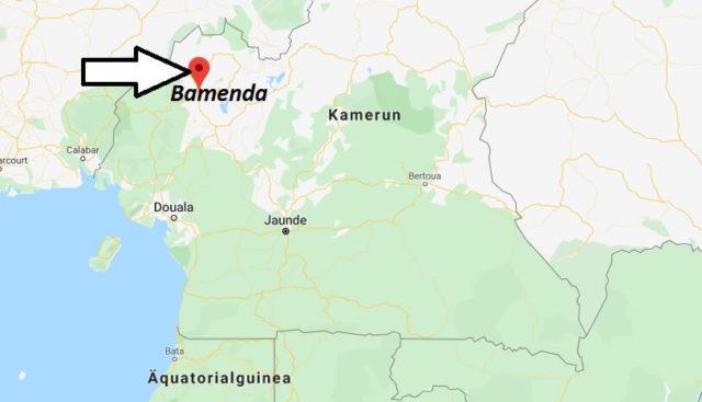 Wo liegt Bamenda? Wo ist Bamenda? in welchem land liegt Bamenda