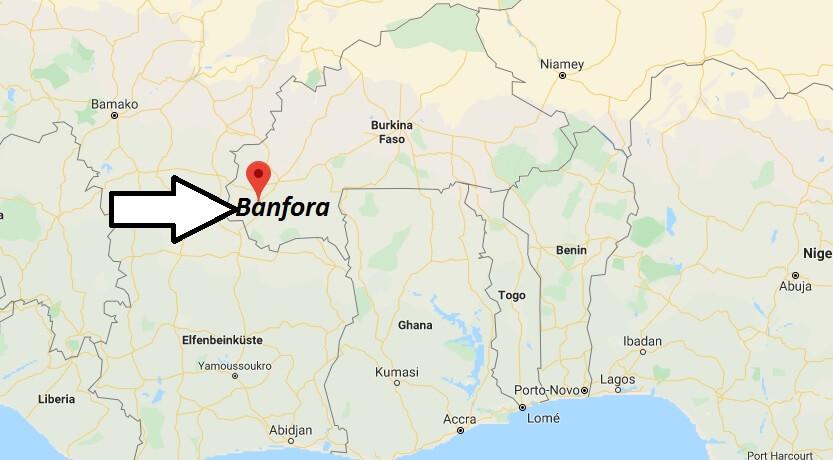 Wo liegt Banfora? Wo ist Banfora? in welchem land liegt Banfora
