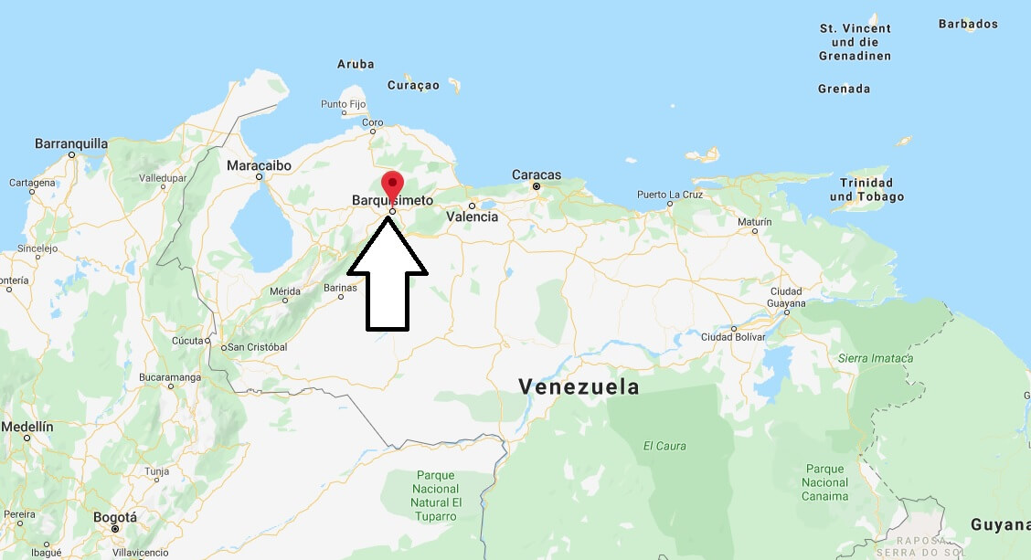 Wo liegt Barquisimeto? Wo ist Barquisimeto? in welchem land liegt Barquisimeto