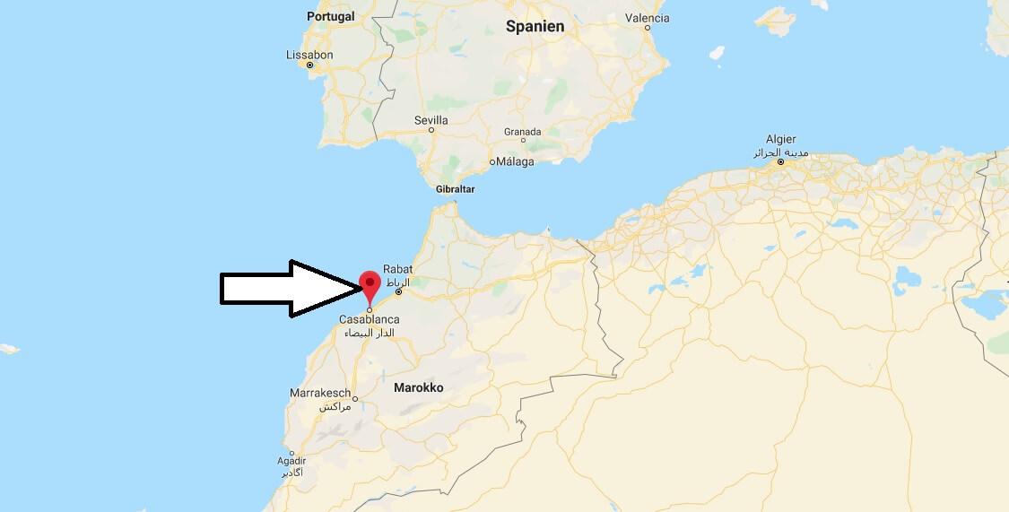 Wo liegt Casablanca - Wo ist Casablanca - in welchem land liegt Casablanca