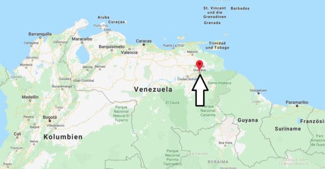 Wo liegt Ciudad Guayana? Wo ist Ciudad Guayana? in welchem land liegt Ciudad Guayana