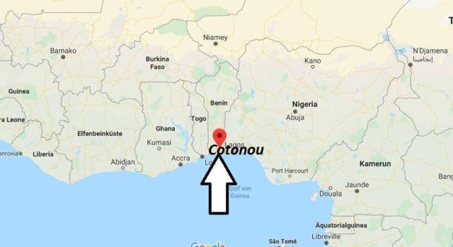 Wo liegt Cotonou? Wo ist Cotonou? in welchem land liegt Cotonou