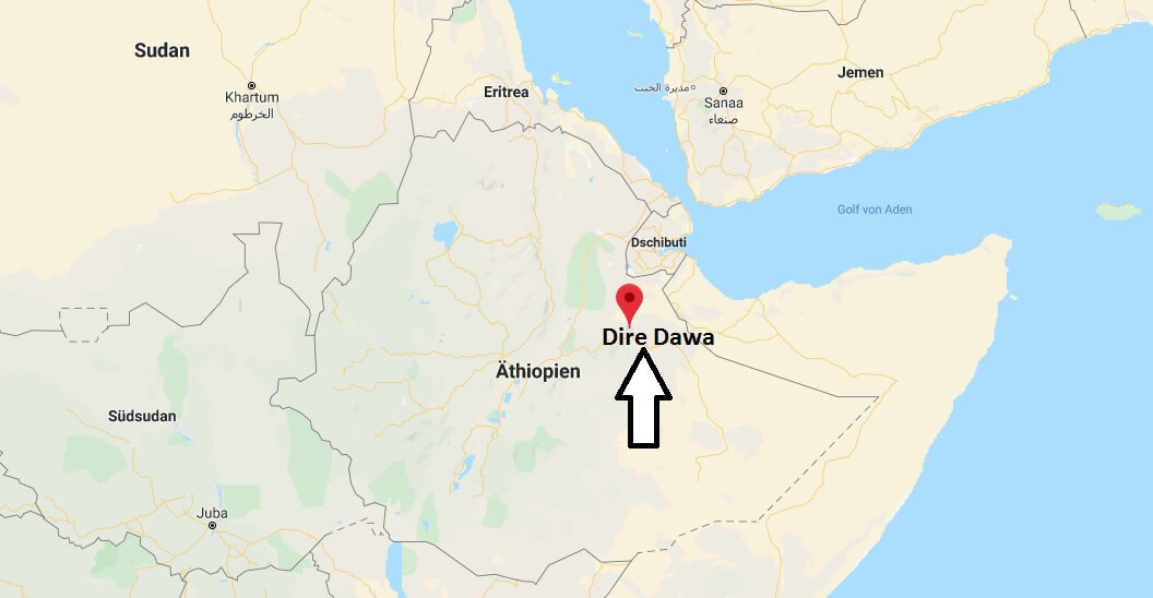 Wo liegt Dire Dawa? Wo ist Dire Dawa? in welchem land liegt Dire Dawa