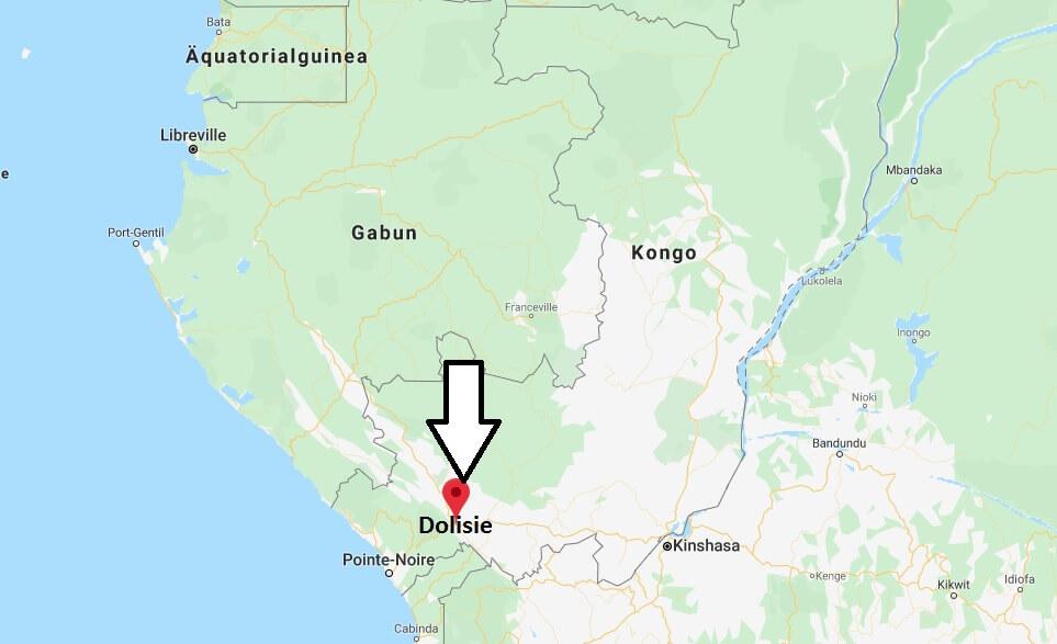 Wo liegt Dolisie? Wo ist Dolisie? in welchem land liegt Dolisie