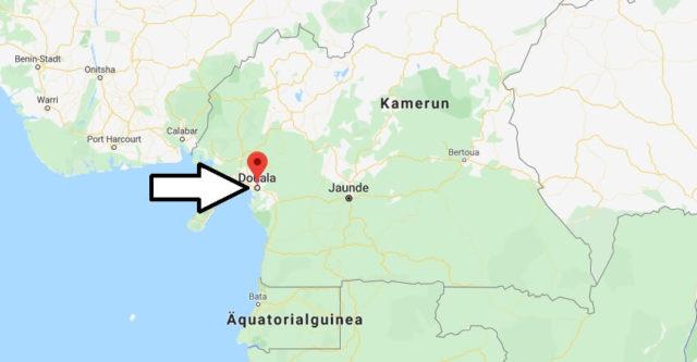 Wo liegt Douala? Wo ist Douala? in welchem land liegt Douala