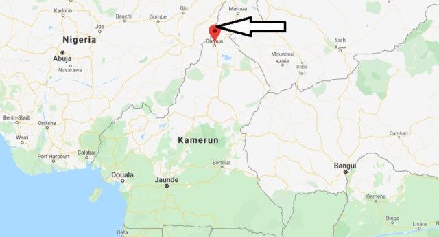 Wo liegt Garoua? Wo ist Garoua? in welchem land liegt Garoua