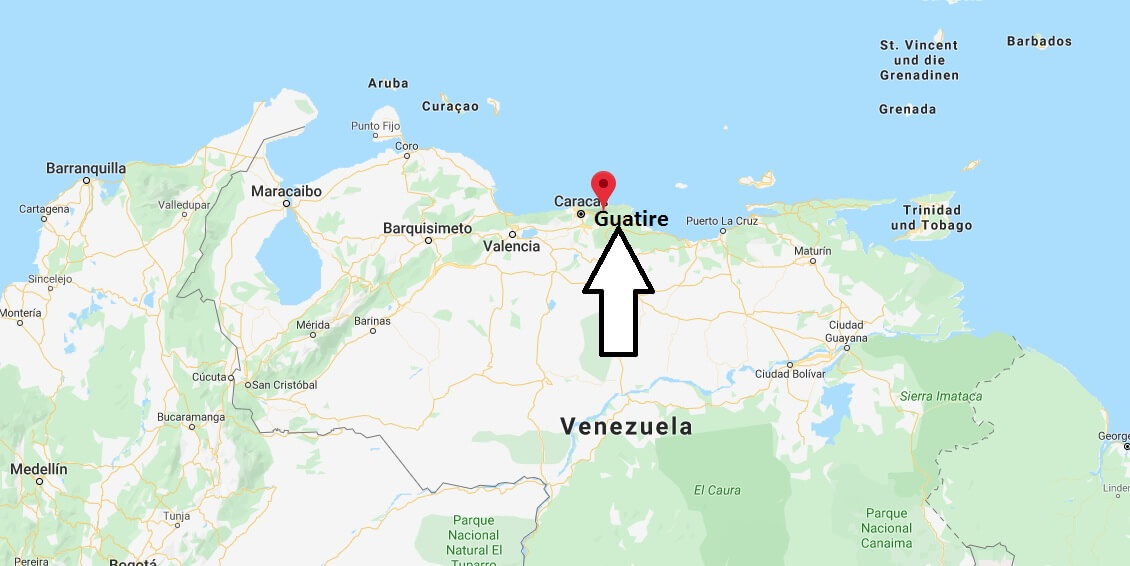 Wo liegt Guatire? Wo ist Guatire? in welchem land liegt Guatire