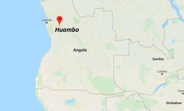 Wo liegt Huambo? Wo ist Huambo? in welchem land liegt Huambo