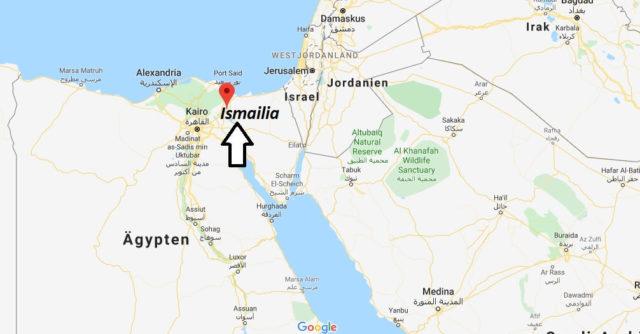 Wo liegt Ismailia? Wo ist Ismailia? in welchem land liegt Ismailia
