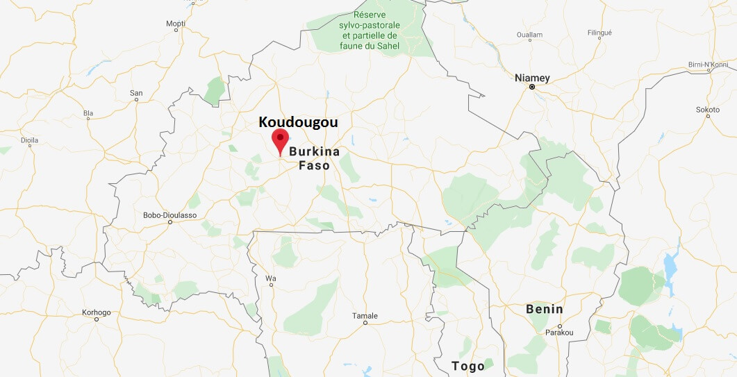 Wo liegt Koudougou? Wo ist Koudougou? in welchem land liegt Koudougou