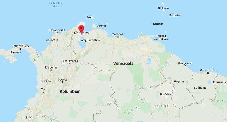 Wo liegt Maracaibo? Wo ist Maracaibo? in welchem land liegt Maracaibo