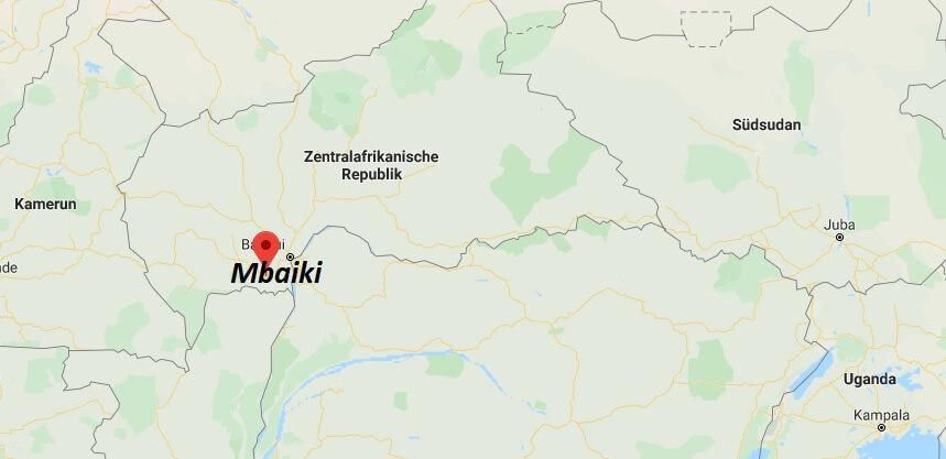 Wo liegt Mbaiki? Wo ist Mbaiki? in welchem land liegt Mbaiki