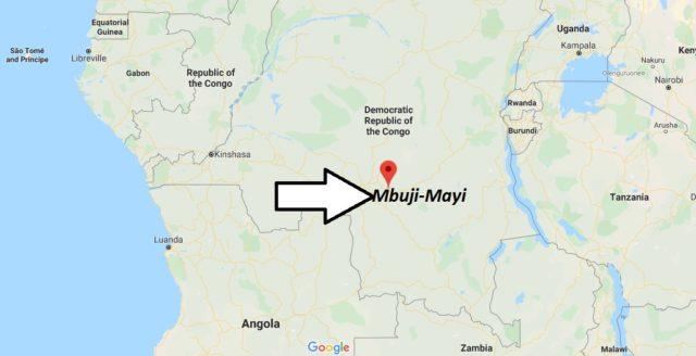 Wo liegt Mbuji-Mayi? Wo ist Mbuji-Mayi? in welchem land liegt Mbuji-Mayi