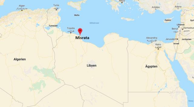 Wo liegt Misrata? Wo ist Misrata? in welchem land liegt Misrata