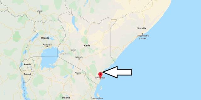Wo liegt Mombasa? Wo ist Mombasa? in welchem land liegt Mombasa