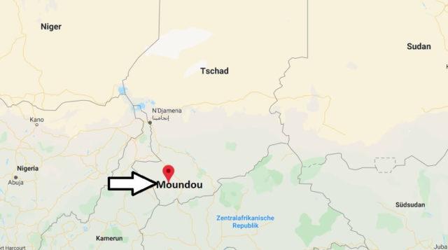Wo liegt Moundou? Wo ist Moundou? in welchem land liegt Moundou