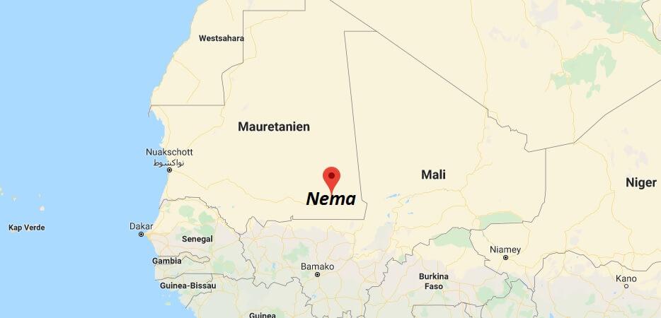 Wo liegt Nema? Wo ist Nema? in welchem land liegt Nema