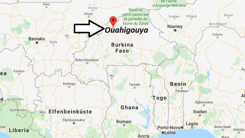 Wo liegt Ouahigouya? Wo ist Ouahigouya? in welchem land liegt Ouahigouya