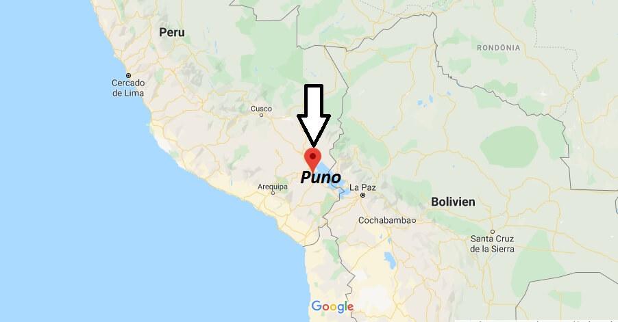 Wo liegt Puno? Wo ist Puno? in welchem land liegt Puno