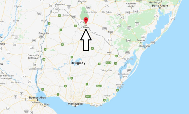 Wo liegt Rivera (Uruguay)? Wo ist Rivera? in welchem land liegt Rivera
