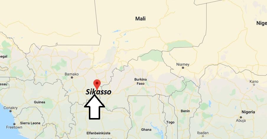 Wo liegt Sikasso? Wo ist Sikasso? in welchem land liegt Sikasso