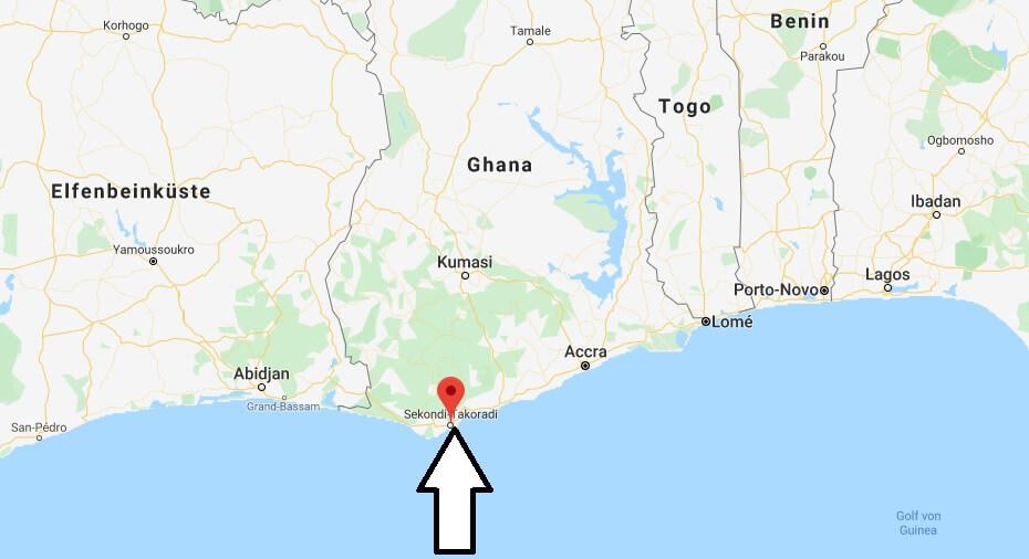 Wo liegt Takoradi? Wo ist Takoradi? in welchem land liegt Takoradi
