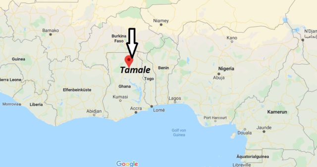 Wo liegt Tamale? Wo ist Tamale? in welchem land liegt Tamale