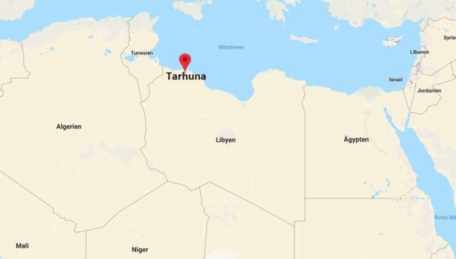 Wo liegt Tarhuna? Wo ist Tarhuna? in welchem land liegt Tarhuna