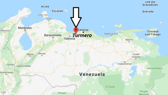 Wo liegt Turmero? Wo ist Turmero? in welchem land liegt Turmero