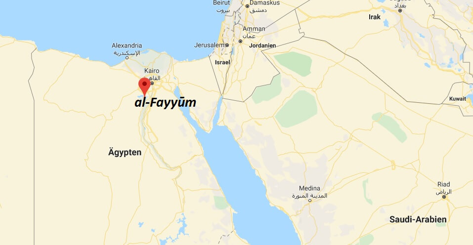 Wo liegt al-Fayyūm? Wo ist al-Fayyūm? in welchem land liegt al-Fayyūm