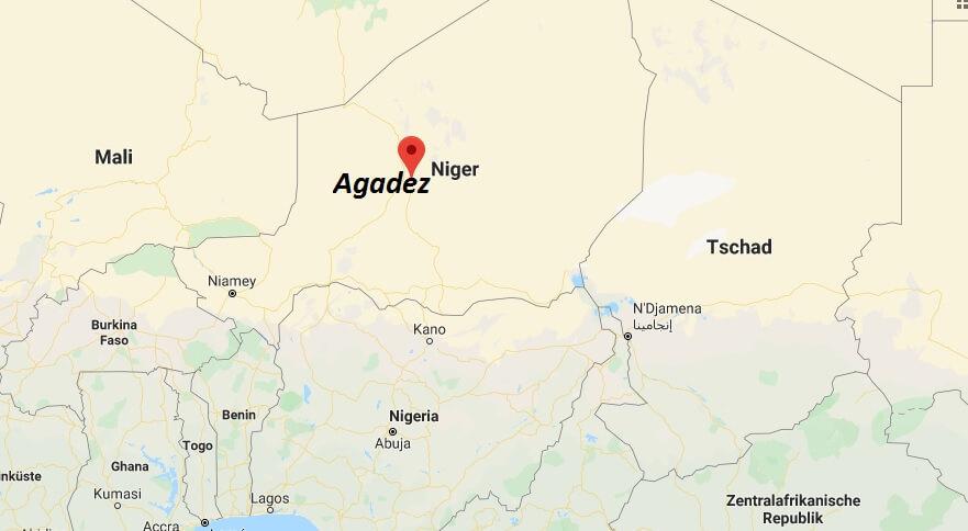 Wo liegt Agadez? Wo ist Agadez? in welchem land liegt Agadez