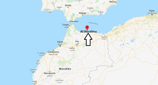 Wo liegt Al Hoceïma? Wo ist Al Hoceïma? in welchem land liegt Al Hoceïma