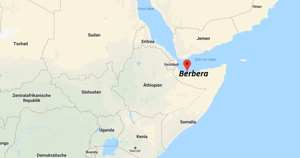 Wo liegt Berbera? Wo ist Berbera? in welchem land liegt Berbera
