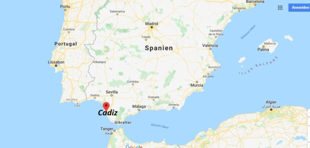 Wo liegt Cadiz? Wo ist Cadiz? in welchem land liegt Cadiz