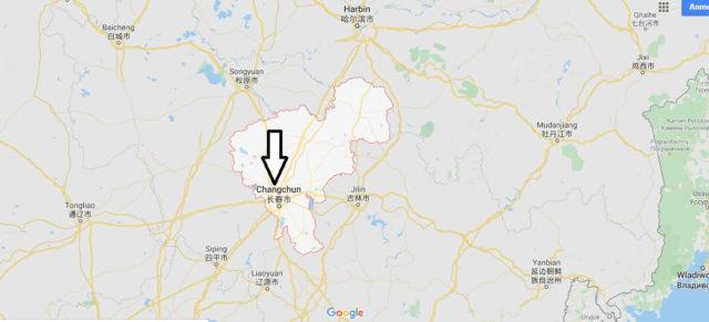 Wo liegt Changchun? Wo ist Changchun? in welchem land liegt Changchun