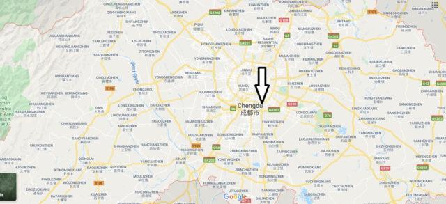 Wo liegt Chengdu? Wo ist Chengdu? in welchem land liegt Chengdu