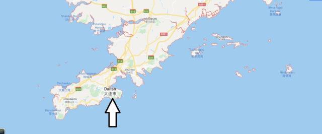 Wo liegt Dalian? Wo ist Dalian? in welchem land liegt Dalian