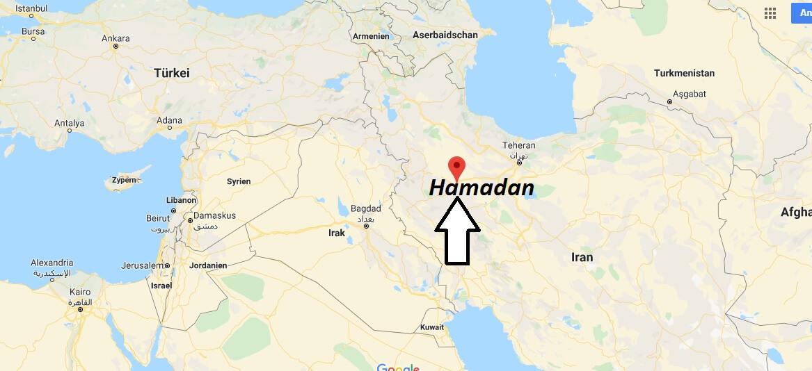 Wo liegt Hamadan? Wo ist Hamadan? in welchem land liegt Hamadan