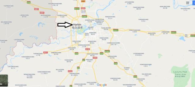 Wo liegt Harbin? Wo ist Harbin? in welchem land liegt Harbin