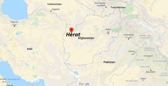 Wo liegt Herat? Wo ist Herat? in welchem land liegt Herat