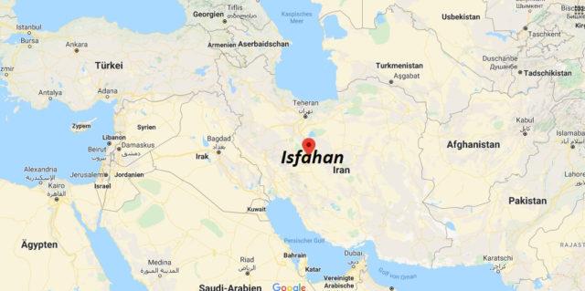 Wo liegt Isfahan? Wo ist Isfahan? in welchem land liegt Isfahan