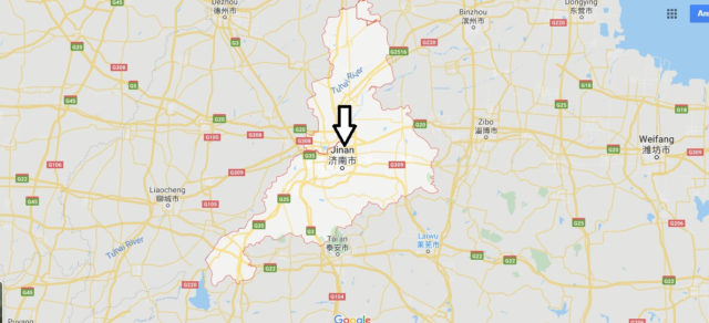 Wo liegt Jinan? Wo ist Jinan? in welchem land liegt Jinan