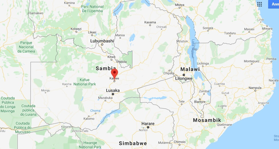 Wo liegt Kabwe? Wo ist Kabwe? in welchem land liegt Kabwe