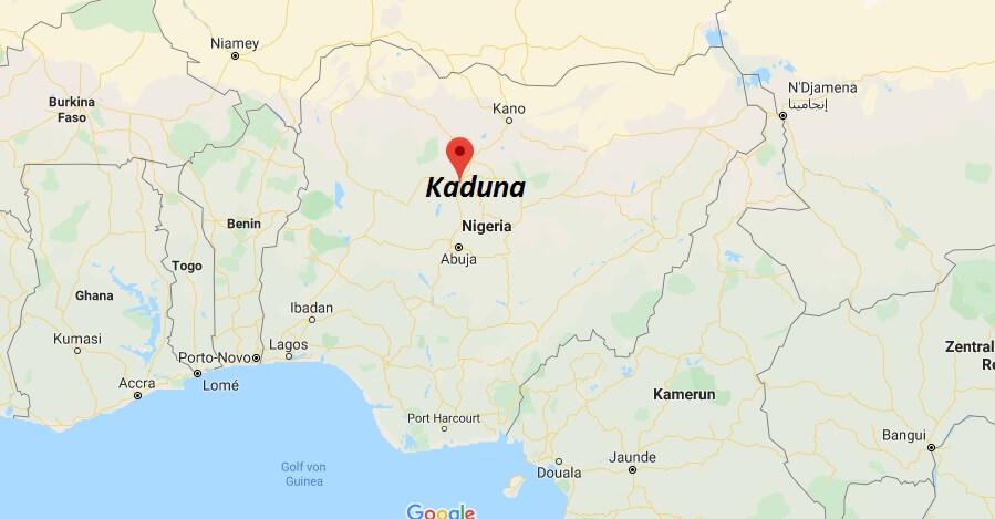 Wo liegt Kaduna? Wo ist Kaduna? in welchem land liegt Kaduna