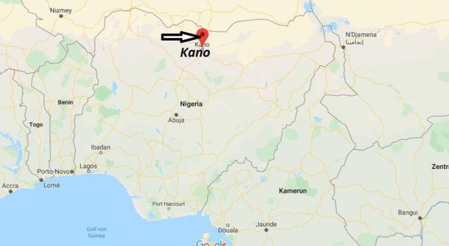 Wo liegt Kano? Wo ist Kano? in welchem land liegt Kano