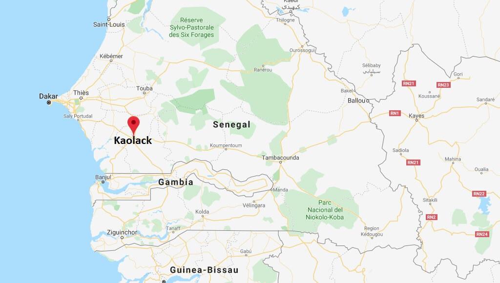 Wo liegt Kaolack? Wo ist Kaolack? in welchem land liegt Kaolack