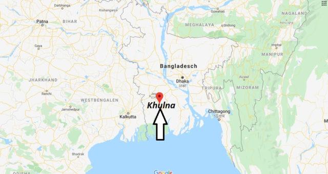Wo liegt Khulna? Wo ist Khulna? in welchem land liegt Khulna