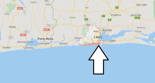 Wo liegt Lagos? Wo ist Lagos? in welchem land liegt Lagos
