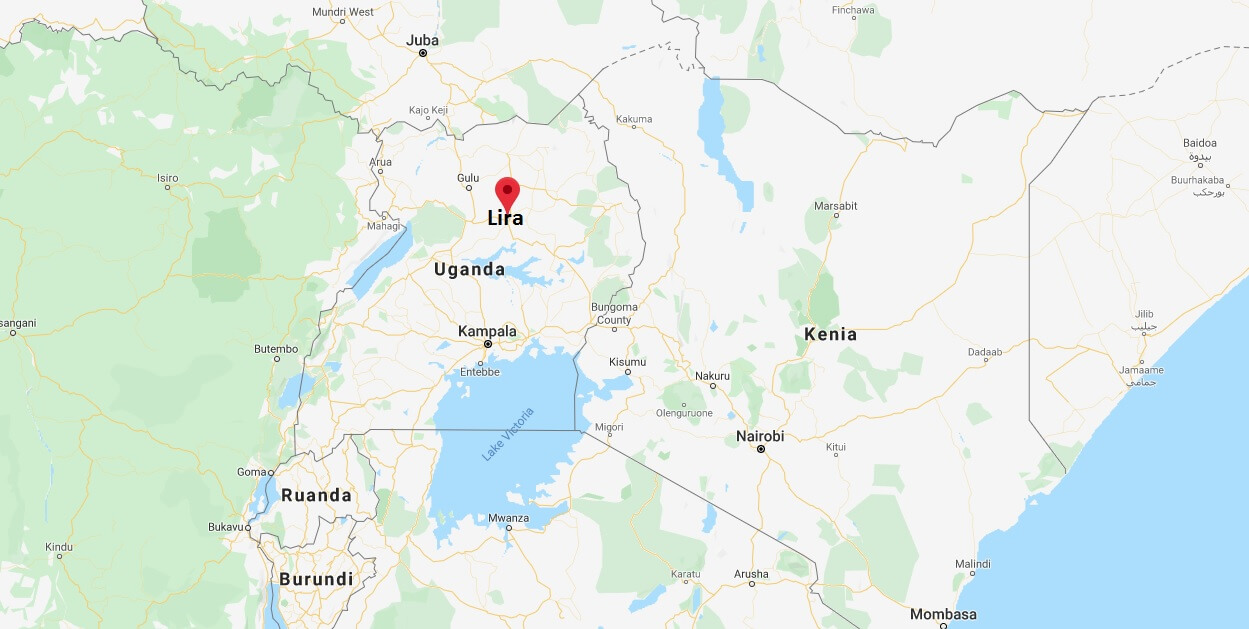 Wo liegt Lira (Uganda)? Wo ist Lira? in welchem land liegt Lira