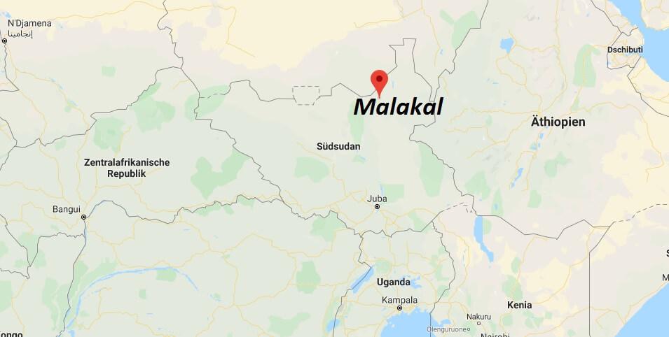 Wo liegt Malakal? Wo ist Malakal? in welchem land liegt Malakal